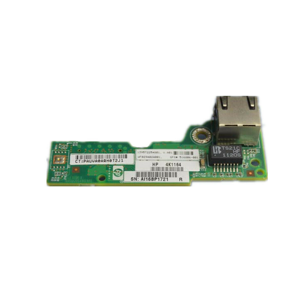 5 PCS of 516806-001 HP Proliant DL180 G6 Lights-Out LO-100i Management Port  Boad