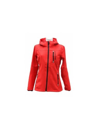 Bambini Softshell MONTALA Giacca Sport HKM Rosso Nuovo