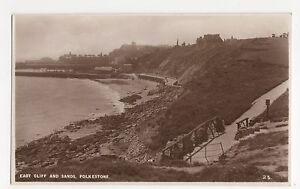 Kent Folkestone East Cliff amp Sands Romney Series RP Postcard A743 - Malvern, United Kingdom - Kent Folkestone East Cliff amp Sands Romney Series RP Postcard A743 - Malvern, United Kingdom
