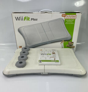 Nintendo Wii Fit Game and Balance Board Exercise Fitness Nintendo RVL-021 Tested