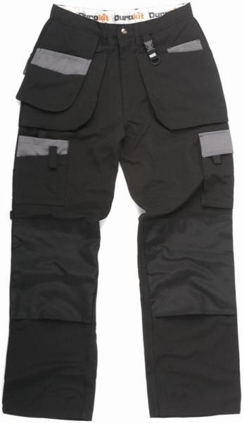 2 X Durakit Work Wear Trousers (INC. Belt & Kneepads)