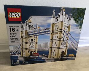 Lego Creator Expert Set 10214 Tower Bridge Brand New Sealed London Ebay