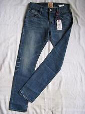 Replay Blue Jeans Denim W28/L32 slim fit light low waist tight legs button fly