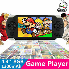 New 8GB 4.3'' LCD 32bit Portable Handheld Video Game Console Player MP4 Toy Gift