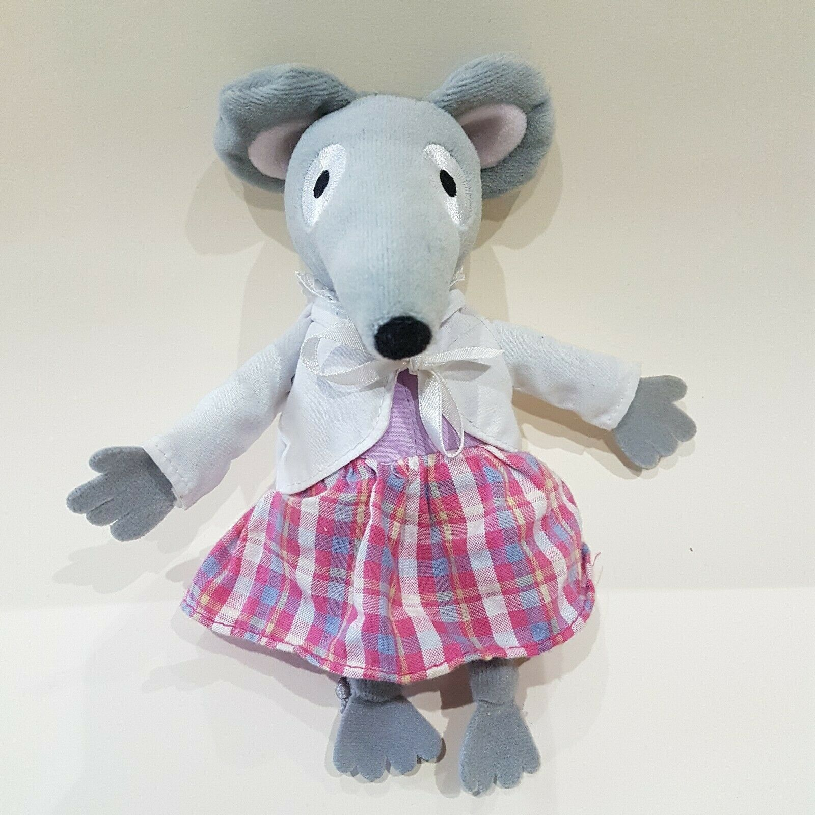 New Bagpuss Mouse SINGING Millie Mouse Soft Toy Plush collectors 7  promo