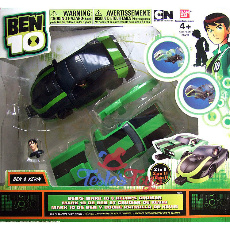Ben 10 Alien Force Ben's Mark 10 och Kevin s kryssare (Mix And Match)