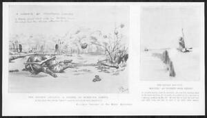 1898-Antique-Print-AFRICA-Soudan-Advance-Mahmud-039-s-Zareba-Natives-Slave-257