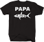 Papa Shark Dad FatherT-Shirt