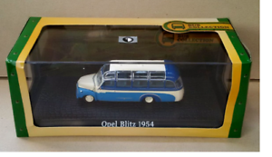1954 SCALA 1//72 EDITIONS ATLAS 131 DIE CAST BUS  OPEL BLITZ