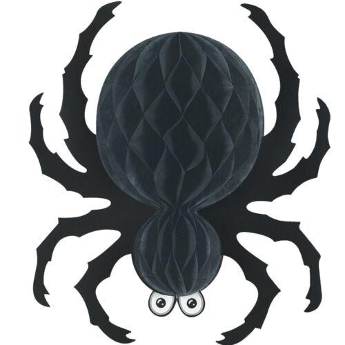 NEW BLACK TISSUE SPIDER Party Supplies