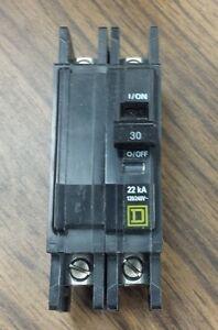 QOU230VH Circuit Breaker, Lug, QOU, 2 Pole, 30A, 120/240V, 22k AIC, NEW IN BOX