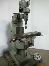 Bridgeport Vertical Mill Milling Machine Table 9 x 32