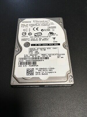 0RW549-73GB 10K SAS 2.5 HD