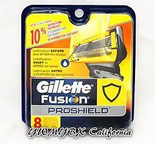 Gillette Fusion ProShield Men's Razor Blade Refills - 8 Count