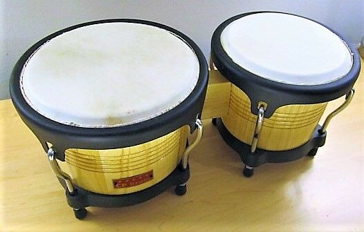 Bongo Drums CP Brand New Latin Percussion Drum Low Price LARGE Größe 1st Quality