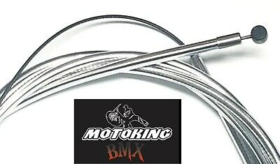 MotoKing Bmx Bicycle Brake Hose Cable C-Clip Aluminum Red