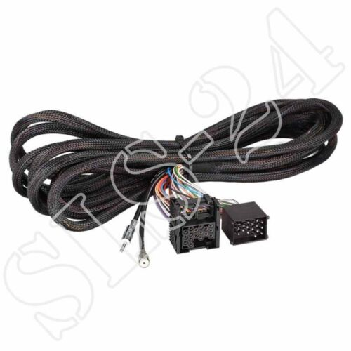 Radio cable de conexión 6,5m prórroga cable alargador para bmw 5er e39 17 pin