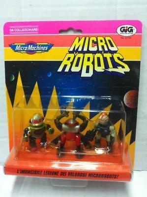 Galoob Micro Machines Z-Bots ZBots SET of 3 ROBOTS #6 MOC 1992