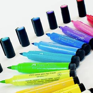 Single Faber-Castell Pitt Artist Big Brush Pen Black