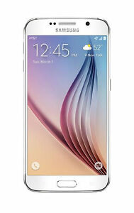 Samsung-Galaxy-S6-AT-amp-T-32GB-White-16MP-SM-G920A-Excellent-Condition-UNLOCKED