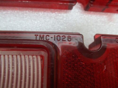 1966 Chevy Bel Air Biscayne No Wagon Tail Light Lenses Pair NORS