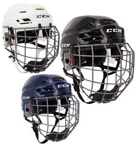 e1b7ae737a5 Image is loading CCM-Tacks-310-Hockey-Helmet-Combo-Sr