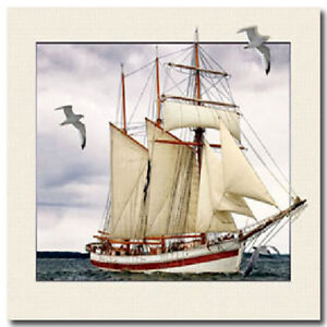 5D-Lenticular-Holographic-Stereoscopic-Picture-Wall-Art-sailing-ship-seabird
