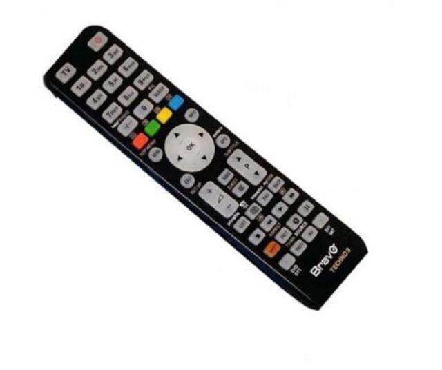 Telecomando universale BRAVO televisore tv dvd vc memorizza fino a 4 dispositivi