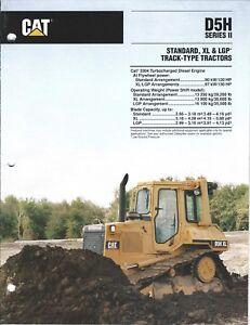 Equipment-Brochure-Caterpillar-D5H-Series-II-Track-type-Tractor-1993-E3979