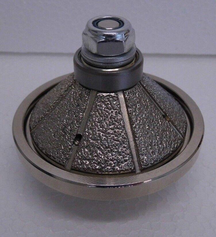 E20 20mm Bevel   Chamfer Diamond Profile Router Bit Stone Granite Marble M14