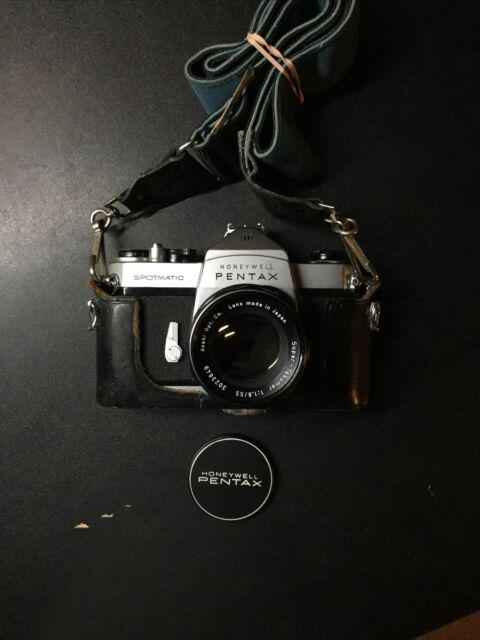 Pentax Spotmatic 35mm SLR Film Camera W/ Asahi Super-Takumar 55mm Lens