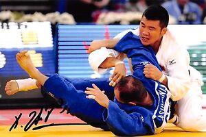 Tsagaanbaatar - MGL- Olympia 2004 - Judo - BRONZE- Foto - orig. sig  (2)