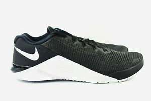 Nike-Metcon-5-Mens-Size-7-Cross-Training-Shoes-AQ1189-090-Black-White-Oreo