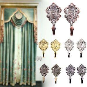 2PCs-Luxury-Flower-Curtain-Tie-Back-Tieback-Voile-Drape-Panel-Holder-Home-Decor