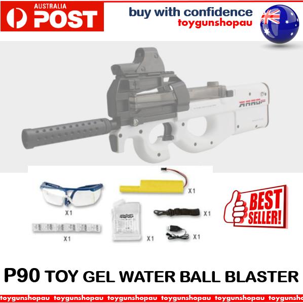 Gel Ball Gun Gel Blaster Gel Ball Toy Gun Water Gun P90 BLACK Blaster Gels 9-11m