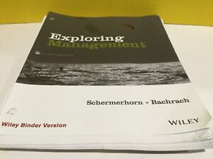 Exploring Mnagement Blinder Ready version Fifth Edition
