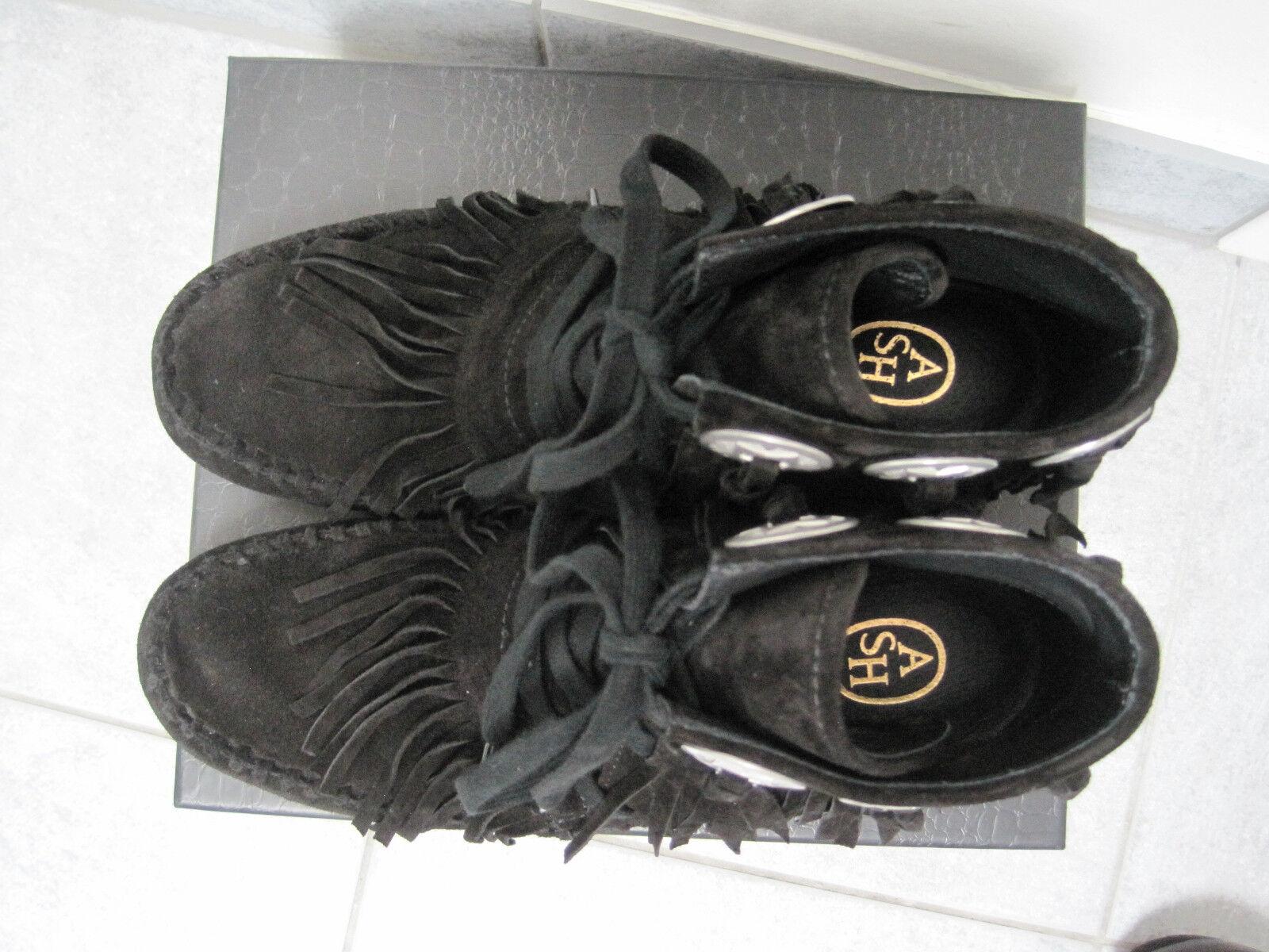 ASH ASH ASH Shadow Stiefel schwarz Gr. 40 16b74c