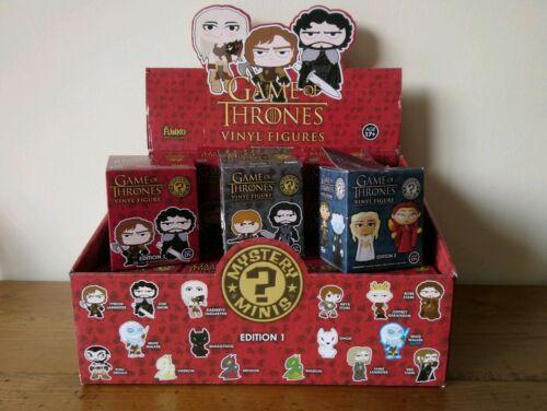 Vinyl Mystery Minis Game of Thrones Funko POP Series 1-3