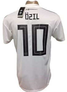 pretty nice 8aff5 aeeda Details about GERMANY HOME SOCCER JERSEY WORLD CUP 2018 OZIL 10