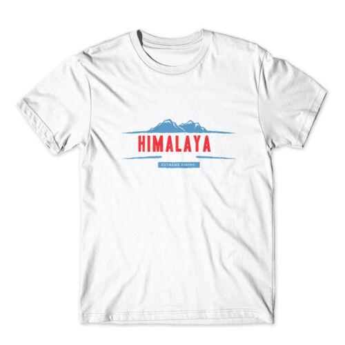 100/% Cotton Premium Tee NEW Himalaya Mountain T-Shirt