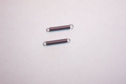 Tuning drive cord  dial cord  tension springs 4mm dia Qty 2 NOS valve Radio