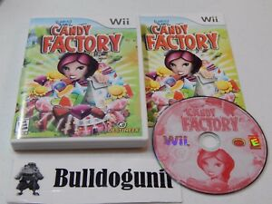 Candace-Kane-039-s-Candy-Factory-Nintendo-Wii-Complete-Game-with-Case-amp-Manual