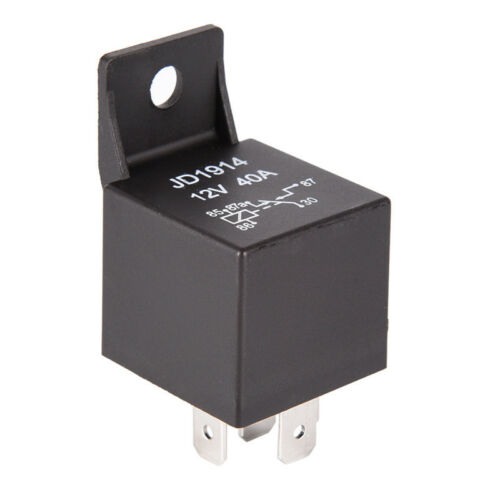 Waterproof Car Relay DC 12V 40A 4Pin Automotive Fuse Relay Normally OpenRelay CL
