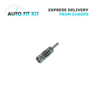 Kfz Car Radio Antenna Adapter Car Aerial Adaptor ISO to DIN Plug Car