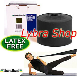 Thera-Band-BANDA-ELASTICA-LATEX-LIBRE-NERO-2-5-m-Resistir-Special-NO-Latex
