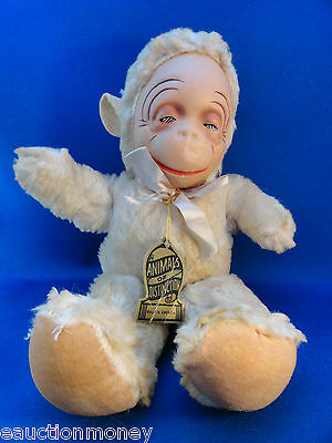 VINTAGE Antique Stuffed Knickerbocker Toy Bear Animals of Distinction Plush Tag