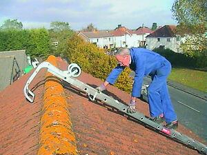 Image Is Loading Roof Ladder C W Hook Amp Wheels Aluminium 12