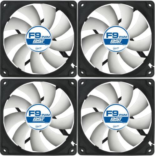 AC Artic 4 x Arctic Cooling F9 PWM PST 92mm Fan 1800 RPM AFACO-090P0-GBA01