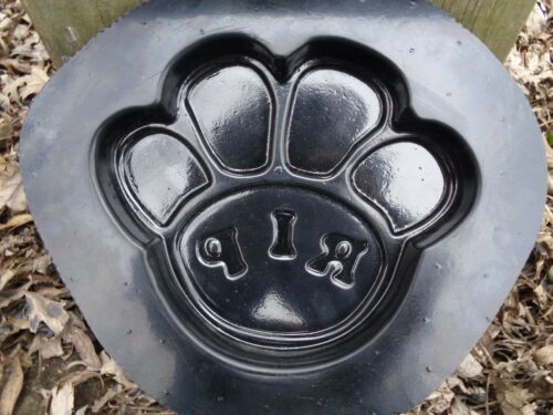 cat paw print mold reusable casting mold RIP dog