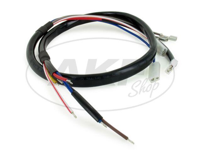 Kabelbaum für Grundplatte SLEZ, Elektronikzündung - für Simson S51, S70, KR51/2